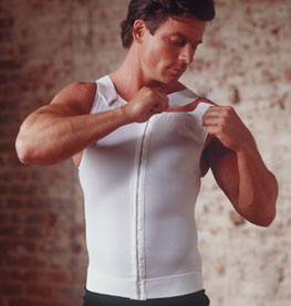 Male Cosmetic Surgery Compression Vest (Rainey)
