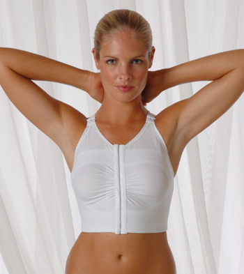 Breast Augmentation Support Bra (w/ Implant Stabilizers) (Rainey)