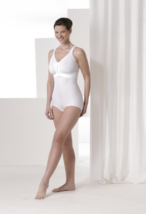 Mid Body Brief Plastic Surgery Compression Garment & Bra - Stage 2 (Rainey)
