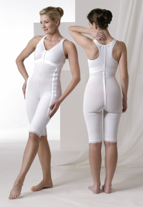 Full Body Plastic Surgery Compression Garment & Bra Kit - Above Knee - Stages 1 & 2 (Rainey)