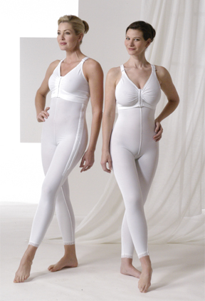 Full Body Cosmetic Surgery Compression Garment & Bra Kit - Below Knee - Stages 1 & 2 (Rainey)