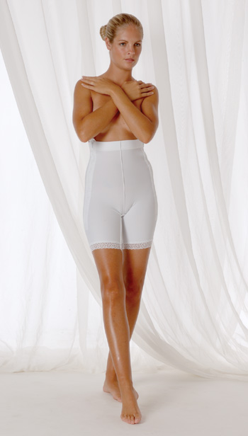Lower Body Cosmetic Surgery Compression Garment  - Stage 1- Mid-Thigh (Rainey)