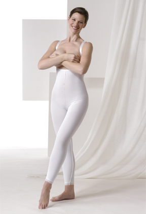 Mid Body Cosmetic Surgery Compression Garment - Stage 2 - Below Knee (Rainey)