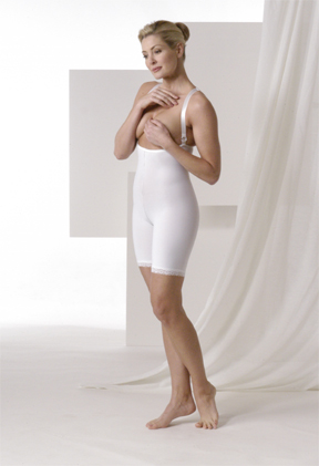 Mid Body Cosmetic Surgery Compression Garment - Stage 2 - Mid-Thigh (Rainey)