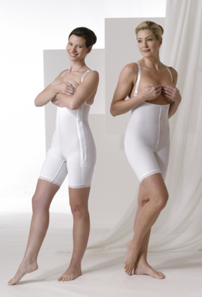 Mid Thigh Body Plastic Surgery Compression Garment Kit - Stages 1 & 2 (Rainey)
