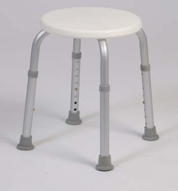 Round Bath Stool (250 lb capacity)