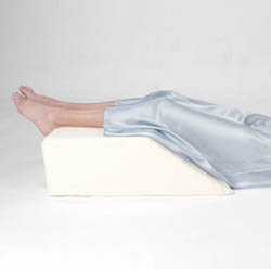 Memory Foam Leg Circulation Wedge Pillow (w/pillow cover)