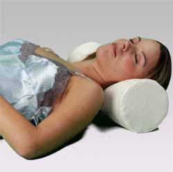 Memory Foam Cervical Roll Pillow