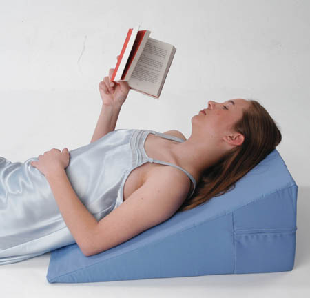 Convoluted Bed Wedge Pillow W Pillow Cover Alex