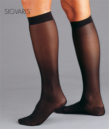 Sigvaris Sheer Fashion Calf-Hi Compression Socks (Women) - 15-20 mmHg