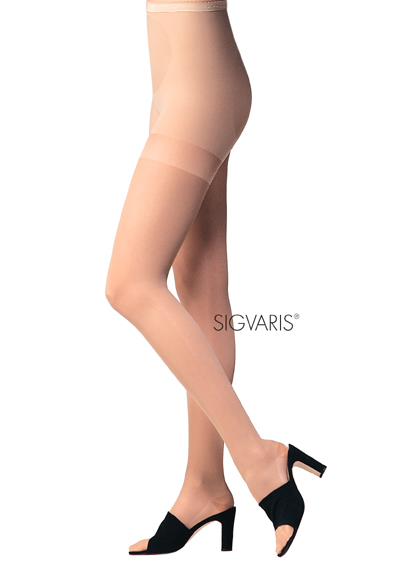 Sigvaris Sculptors Body-Enhancing Compression Pantyhose - 18-25 mmHg