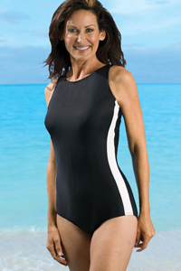 Jodee One-Piece Tank Swimsuit (Soft Cup)