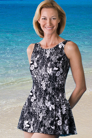 Jodee Soft Cup Swim Dress (Prints and Solid)