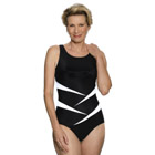 Jodee Fun In The Sun Swimsuit - Black (Soft Cup)