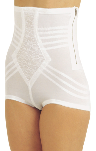 Rago Shapette High Waist Panty Brief Shaper (w/ Zipper)