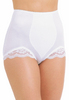 Rago Light Tummy Slimming & Shaping Panty Brief w/ Lace