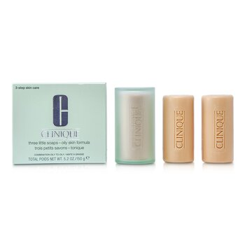 Clinique 3 Little Soap - Oily Skin Formula