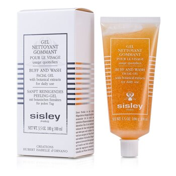 Sisley Botanical  Buff & Wash Facial Gel (Tube)