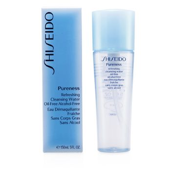 Shiseido Pureness Refreshing Cleansing Water Oil-Free