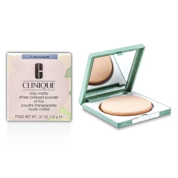 Clinique Stay Matte Powder Oil Free - No. 11 Stay Brandy
