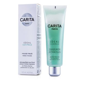 Carita Ideal Controle Pearly Mousse (Combination to Oily Skin)