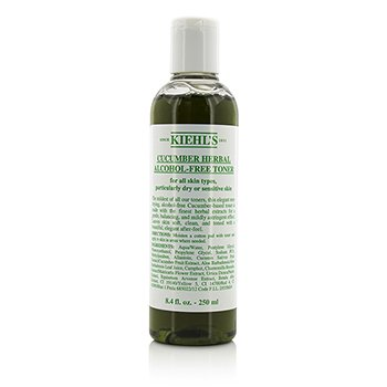 Kiehl's Cucumber Herbal Alcohol-Free Toner - For Dry or Sensitive Skin Types