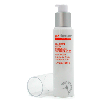 MD Skincare All-in-One Tinted Moisturizer SPF 15 - Light Medium