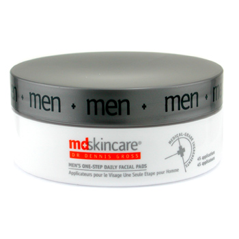 MD Skincare Men's One Step Daily Facial Pads