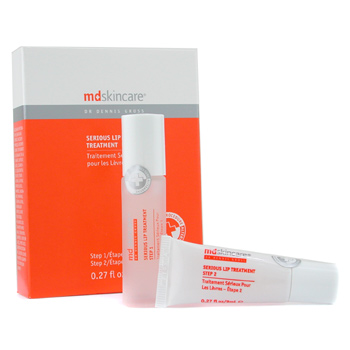 MD Skincare Serious Lip Treatment: Step1 8ml + Step2 8ml