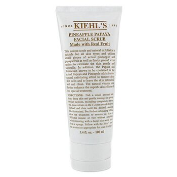 Kiehl's Pineapple Papaya Facial Scrub With Real Fruit Extracts