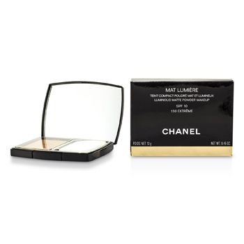 Chanel Mat Lumiere Luminous Matte Powder Makeup SPF10 - # 130 Extreme