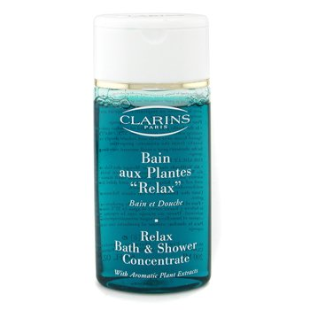 clarins relax bath amp shower concentrate unboxed clarins clarins relax bath amp shower concentrate body oil gift set