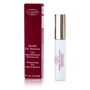 Clarins Double Fix Mascara (Waterproofing Seal Lashes & Eyebrows)