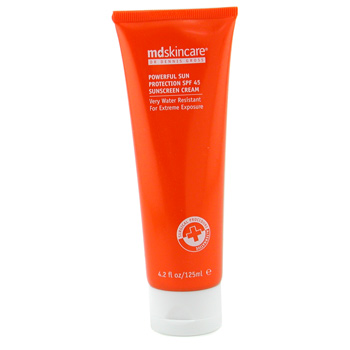 MD Skincare Powerful Sun Protection SPF45 Sunscreen Cream