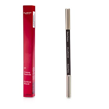Clarins Eyebrow Pencil - #01 Dark Brown