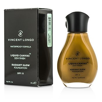 Vincent Longo Liquid Canvas Dew Finish Waterproof Foundation SPF 15 - Rich Sienna