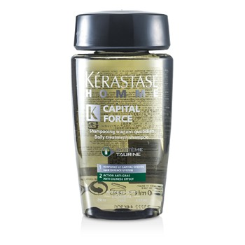 Kerastase Homme Capital Force Daily Treatment Shampoo (Anti-Oiliness Effect)