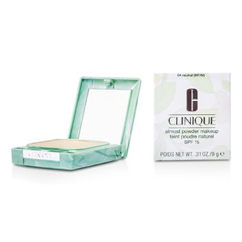 Clinique Almost Powder MakeUp SPF 15 - No. 04 Neutral (New Packaging)