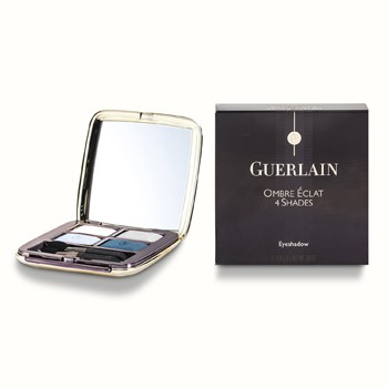 Guerlain Ombre Eclat 4 Shades Eyeshadow - #490 Turquoise Cendre