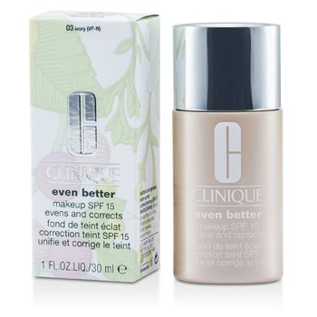 Clinique Even Better Makeup SPF15 (Dry Combination to Combination Oily) - No. 03 Ivory