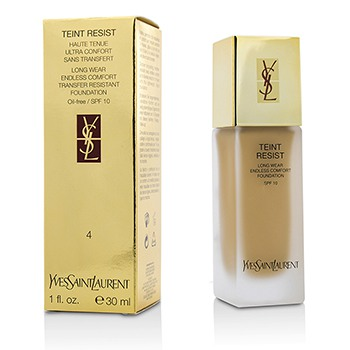 Yves Saint Laurent Teint Resist Long Wear Transfer Resistant Foundation SPF10 (Oil Free) - #04 Sand