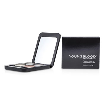 Youngblood Pressed Mineral Eyeshadow Quad - Eternit