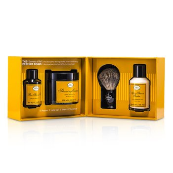The Art Of Shaving The 4 Elements Of The Perfect Shave - Lemon (Pre Shave Oil+ Shave Crm+ A/S Balm+ Brush)