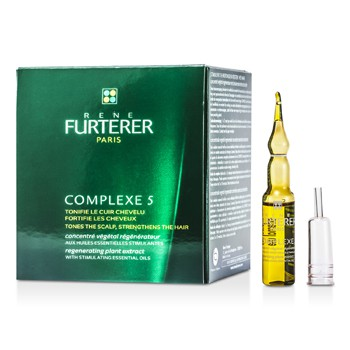 Rene Furterer Complexe 5 Regenerating Plant Extract (Tones the Scalp/ Strengthens the Hair)