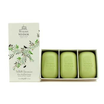 Woods Of Windsor White Jasmine Fine English Soap