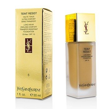 Yves Saint Laurent Teint Resist Long Wear Transfer Resistant Foundation SPF10 (Oil Free) - #06 Gold Beige