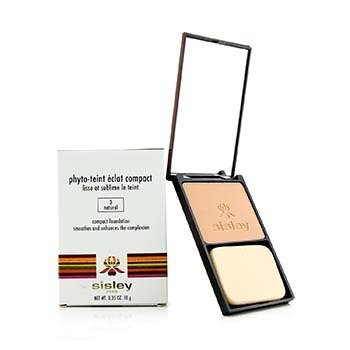 Sisley Phyto Teint Eclat Compact Foundation - # 3 Natural
