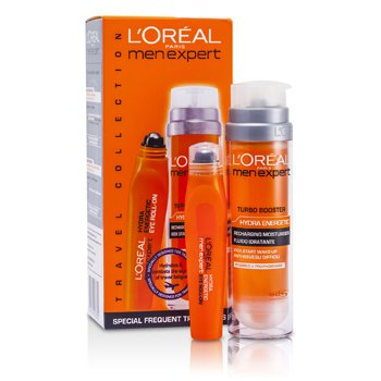 L'Oreal Men Expert Set: Hydra Energetic Turbo Booster + Ice Cool Eye Roll-On