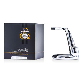 The Art Of Shaving Fusion Chrome Collection For Shaving Brush & Razor Stand