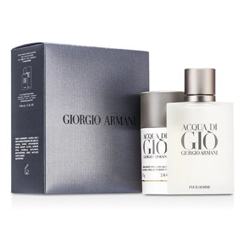 Giorgio Armani Acqua Di Gio Coffret: Eau De Toilette Spray 100ml/3.4oz + Deodorant Stick 75g/2.6oz